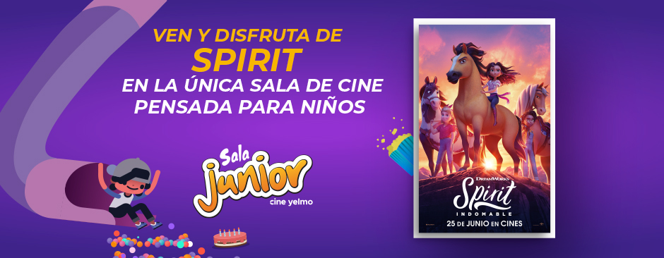 spirit sala junior