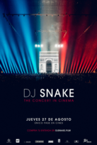Dj Snake. The Concert in Cinema