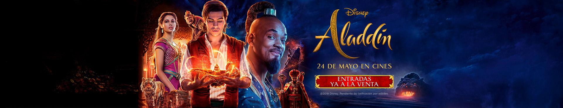 Venta Anticipada Aladdin