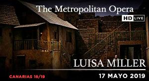 Luisa Miller - ÓPERA PREG. MET CAN 18-19
