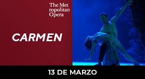 Carmen - ÓPERA PREG. MET CAN 19-20