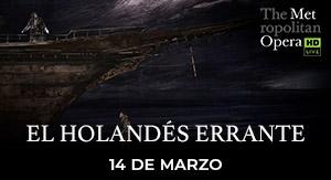 El Holandés Errante MET LIVE 19-20