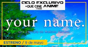 Your name - CICLO ANIME