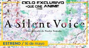 A Silent Voice - CICLO ANIME