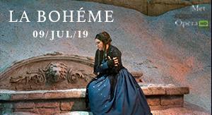 La Bohème - MET OPERA VERANO 2019
