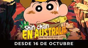 Shin Chan en Australia tras las...
