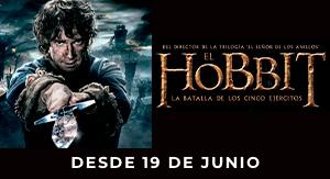 El Hobbit: La batalla de los cinco...