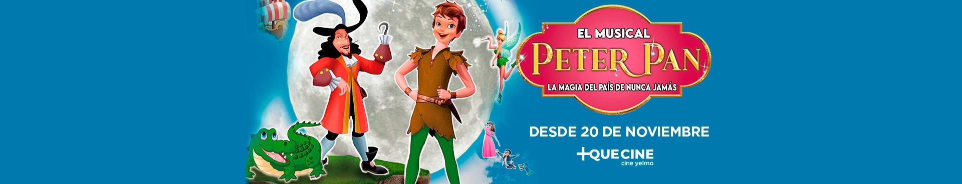EL MUSICAL DE PETER PAN - El País de Nunca Jamás